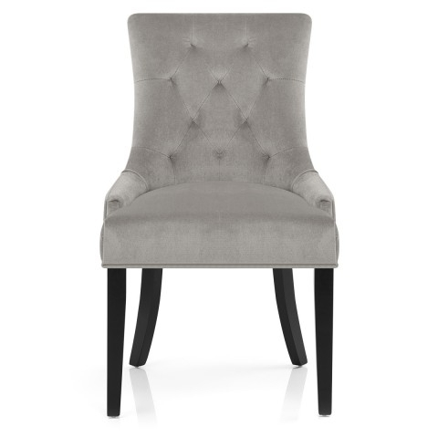 Recent Newbury Dining Chair Grey Velvet – Atlantic Shopping In Grey Dining Chairs (View 15 of 20)
