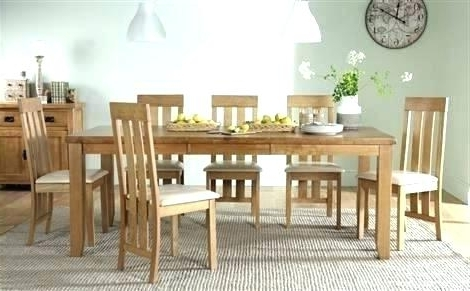 Recent Oak Dining Tables 8 Chairs Throughout Dining Tables: 8 Chair Dining Table Sets (View 17 of 20)