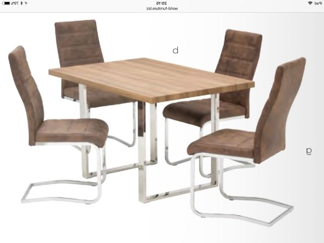 Recent Oak Dining Tables Pertaining To World Furniture Naples French Rustic Oak Or Grey Oak Dining Sets (View 13 of 20)