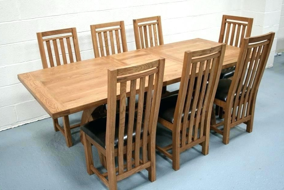 Recent Oak Table And Chairs Oak Pub Table Sets – Sardin With Oak Furniture Dining Sets (Gallery 19 of 20)