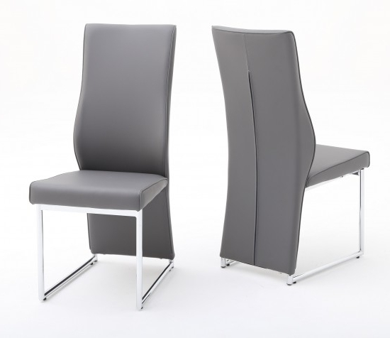Recent Premier Stockist For The Torelli Furniture Remo Grey Leather Dining Within Grey Leather Dining Chairs (View 18 of 20)