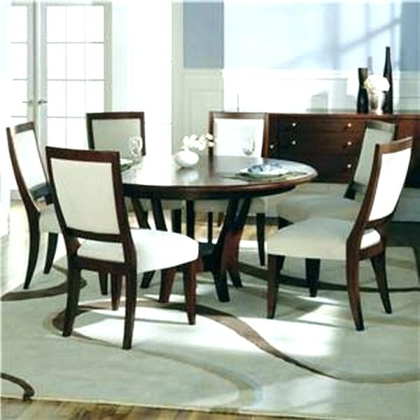 Recent Round Table 6 Chairs 6 Seat Dining Table Incredible Dining Table 6 Pertaining To Round 6 Person Dining Tables (View 12 of 20)