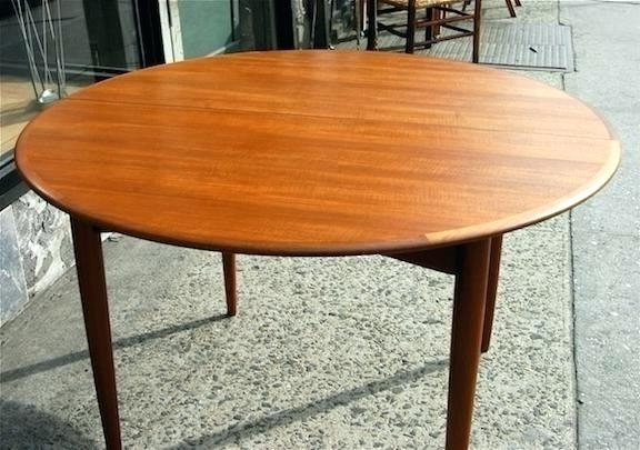 Recent Round Teak Dining Tables Intended For Teak Round Dining Table – Hammadhasan (View 10 of 20)