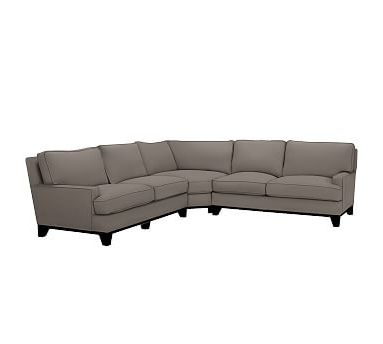 Recent Seabury Upholstered 3 Piece L Shaped Wedge Sectional, Down Blend Intended For Sierra Foam Ii 3 Piece Sectionals (View 9 of 15)