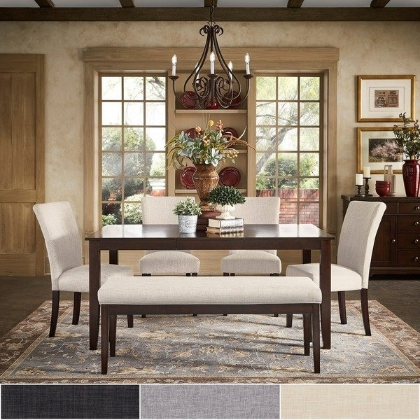 Recent Shop Pranzo Rectangular 66 Inch Extending Dining Table Set With Regard To Extending Dining Tables Sets (Gallery 9 of 20)