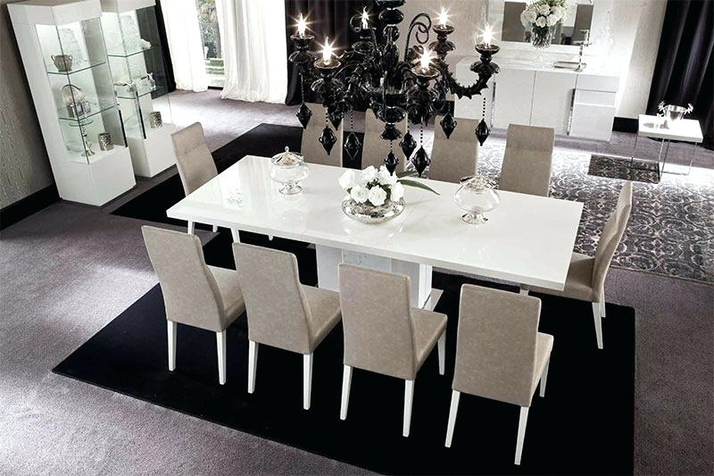 Recent White Gloss Dining Set High Gloss Furniture White High Gloss Dining Throughout White High Gloss Dining Chairs (View 9 of 20)
