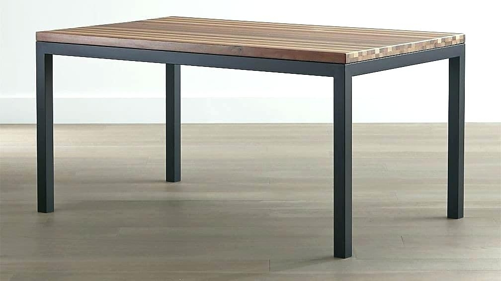 Recent Wood And Steel Dining Table – Chintansureliya Intended For Dining Tables With Metal Legs Wood Top (View 17 of 20)