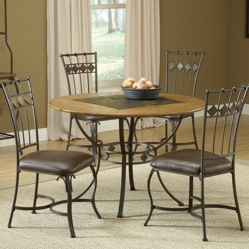Red Barrel Studio Boyers 5 Piece Dining Set & Reviews (View 12 of 20)
