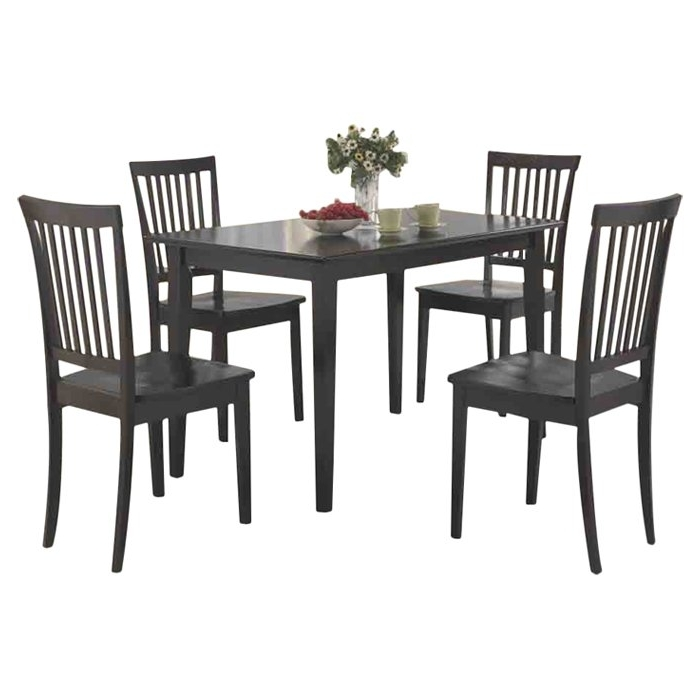Red Barrel Studio Holcomb 5 Piece Dining Set & Reviews (View 18 of 20)