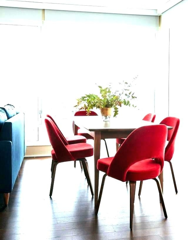 Red Dining Table And Chairs Red Dining Table Set Glass Dining Table Intended For Fashionable Red Dining Tables And Chairs (View 14 of 20)