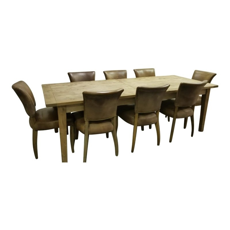 Restoration Hardware Dining Set – 9 Pieces In  (View 17 of 20)