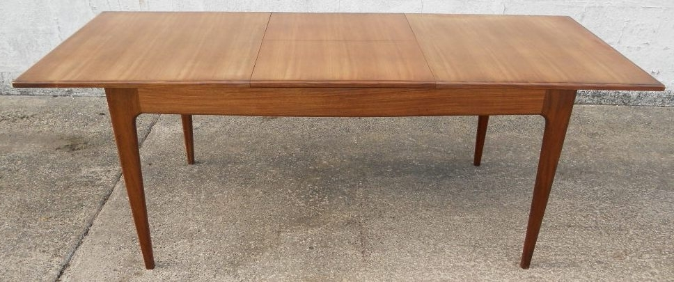 Retro Extending Dining Tables In Most Recently Released 1960 S Retro Teak Extending Dining Table To Seat Eight – Sold (View 13 of 20)
