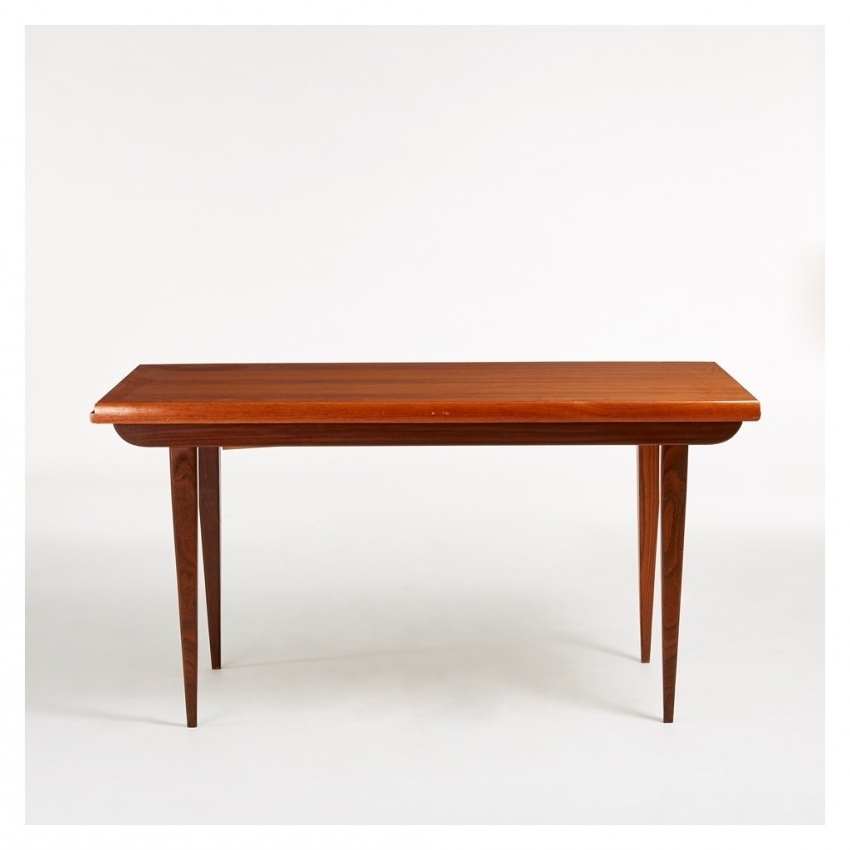 Retro Extending Dining Tables With Well Liked Vintage Extending Dining Table Teak C (View 17 of 20)