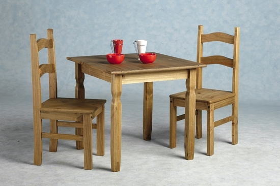 Rio Dining Tables Throughout Widely Used Rio Wooden Dining Table With 2 Chairs 8711 Furniture In (Gallery 3 of 20)