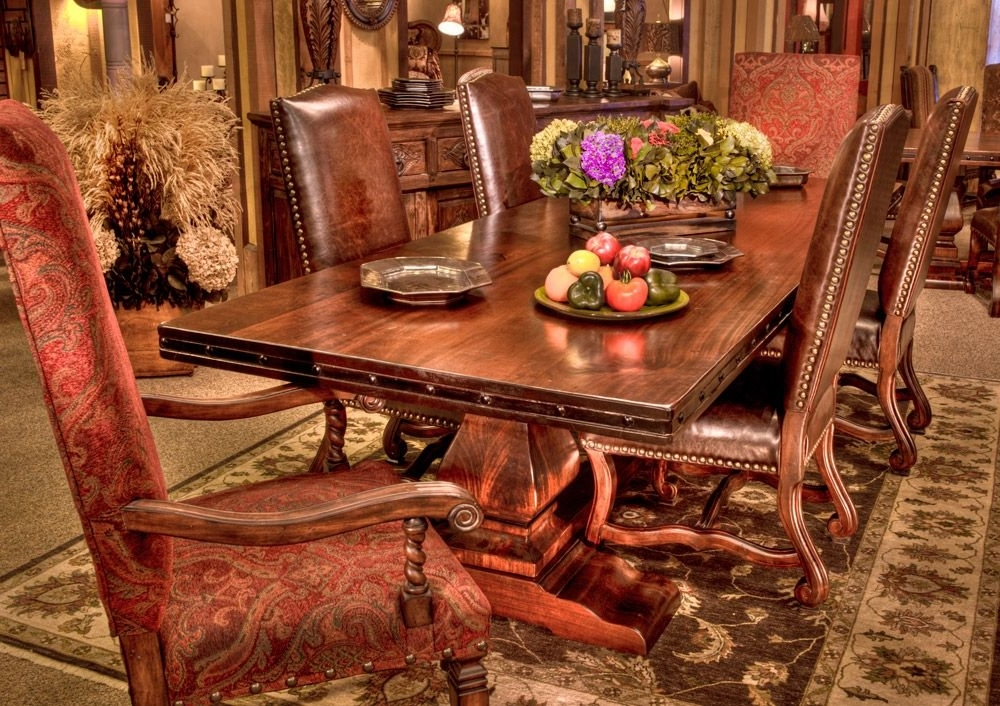 Rio Grande Dining Table: Beautiful And Solid Wood Is This Trestle Regarding Fashionable Rio Dining Tables (Gallery 14 of 20)