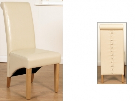 Rocco Extension Dining Tables Intended For Most Recently Released Ivory Dining Chair (View 14 of 20)