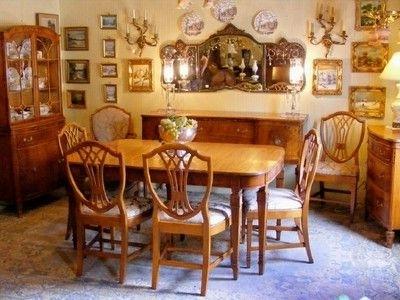 Room, Antique Furniture Inside Ebay Dining Suites (Gallery 8 of 20)