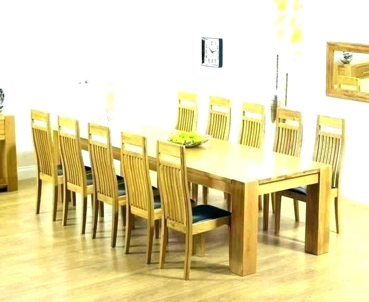 Rosewood Dining Table 8 Chairs Table And 8 Chairs Dining Table With Within Fashionable Oak Dining Tables 8 Chairs (Gallery 14 of 20)