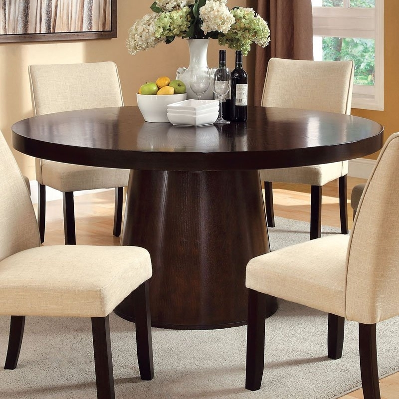 Round 6 Person Dining Tables Regarding Latest No Space In The Dining Room? Here Are Some Extendable Dining Tables (View 14 of 20)