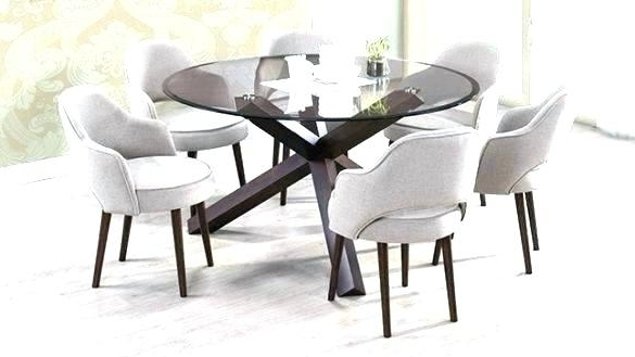 Round 6 Seater Dining Tables Intended For Popular Small 6 Seater Dining Table – Bcrr (View 7 of 20)