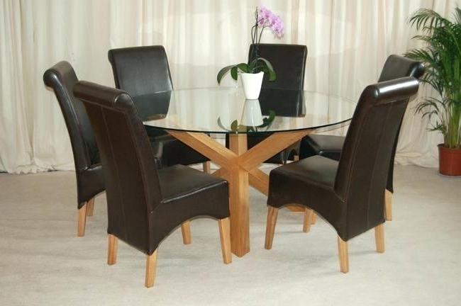 Round 6 Seater Dining Tables Regarding Best And Newest 6 Seat Dining Table Round Wooden 6 Sitter Dining Tables Table (View 5 of 20)