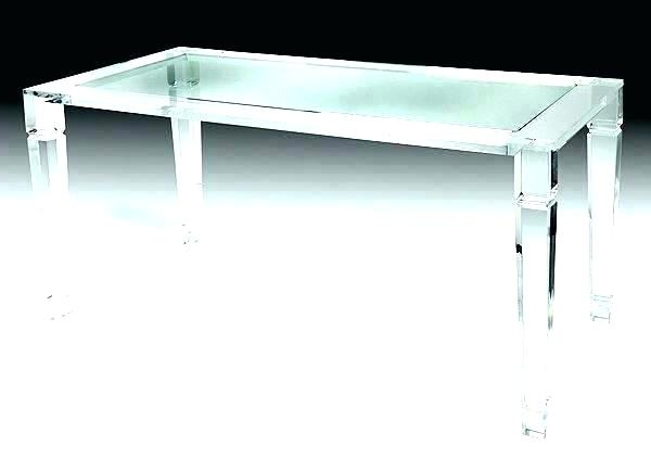 Round Acrylic Dining Tables Inside Well Known Lucite Dining Table Base Palm Beach Room Round Acrylic (View 17 of 20)