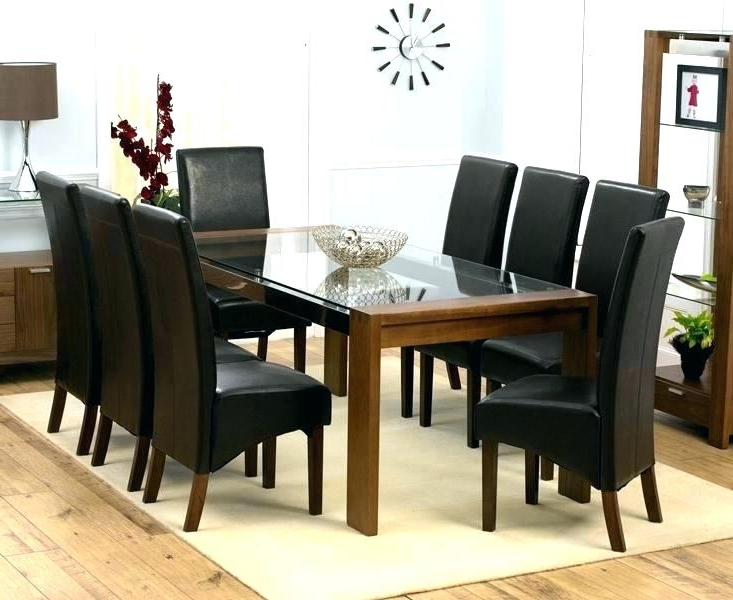 Round Dining Table 8 Chairs Kitchen Table And 8 Chairs Kitchen Table Within Popular Dining Tables And 8 Chairs (View 16 of 20)