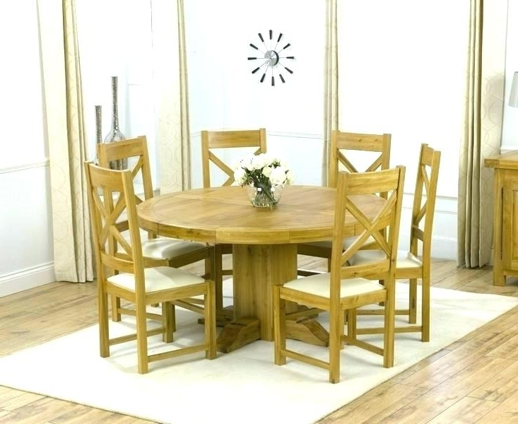 Round Dining Table And Chairs For 8 Dining Table And 8 Chairs Set Pertaining To Well Known Oak Dining Tables And 8 Chairs (View 17 of 20)