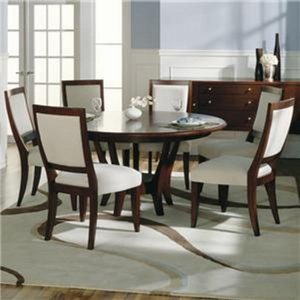Round Dining Table For 6 Throughout Favorite 6 Seat Round Dining Tables (View 14 of 20)