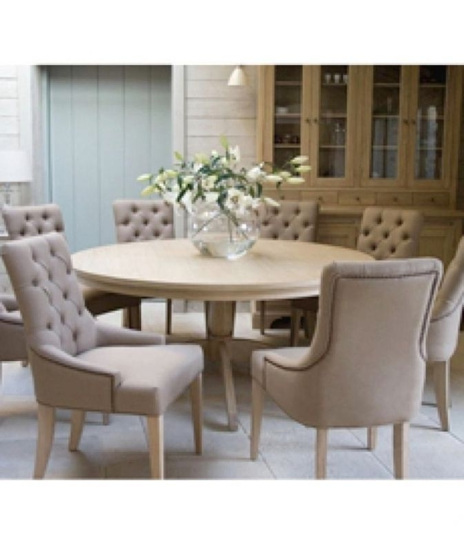 Round Dining Table Set For 6 In Preferred 6 Person Round Dining Tables (View 15 of 20)