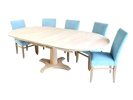 Round Dining Tables Extends To Oval For 2017 Round To Oval Dining Table Extending Inside Tables Large Modern (View 9 of 20)