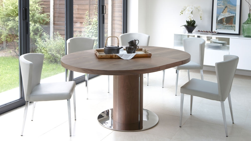 Round Extendable Dining Table Design (View 18 of 20)
