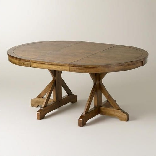 Round Extendable Dining Tables With Regard To Preferred One Of My Favorite Discoveries At Worldmarket: Round To Oval X (View 15 of 20)
