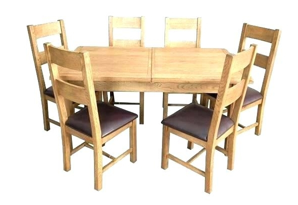 Round Extending Dining Room Table And Chairs Round Dining Table And Intended For Most Current Extendable Dining Tables And 6 Chairs (View 15 of 20)