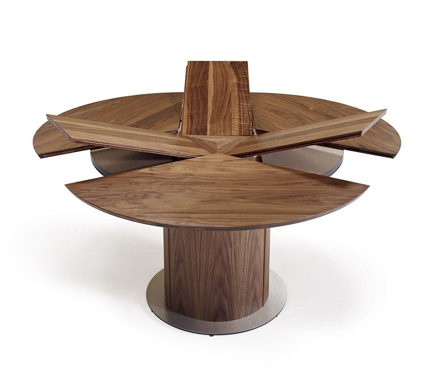 Round Extending Dining Table Sets Round Table Furniture Round For Most Up To Date Extendable Round Dining Tables Sets (View 14 of 20)