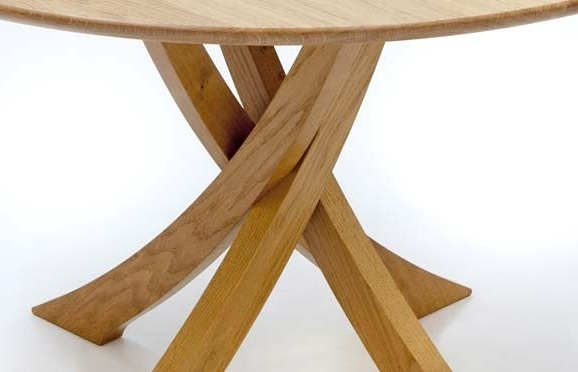 Round Oak Dining Tables – Soulpower Within Most Current Circular Oak Dining Tables (View 18 of 20)