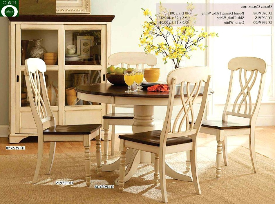 Round Oak Kitchen Table Sets Kitchen Table Oval Round Set 2 Seats For Favorite Dining Table Sets For  (View 15 of 20)