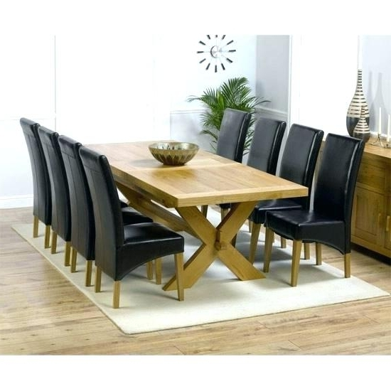 Round Table 8 Chairs Formal Dining Room Table With 8 Chairs Round 8 Throughout Preferred Oak Dining Tables And 8 Chairs (View 8 of 20)