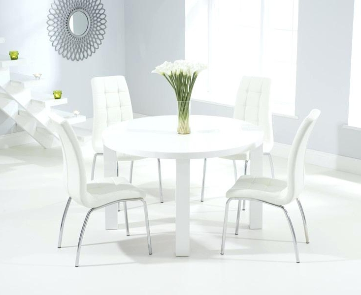Round White Dining Table – Payoneer (View 15 of 20)