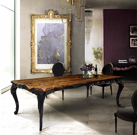 Royal Dining Table Exclusive Furniture Regarding Recent Royal Dining Tables (View 11 of 20)