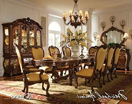 Royal Dining Tables Intended For Widely Used Amazon – 11 Pc Palais Royale Rectangular Dining Table Set (View 12 of 20)