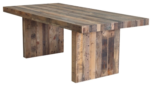 Rustic Dining Tables Pertaining To Famous Terra Nova Dining Table Rustic Pine – Rustic – Dining Tables  Cdi (View 17 of 20)