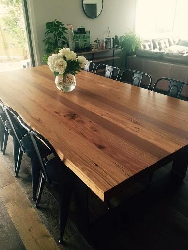 Rustic Dining Tables Throughout Recent Rustic Dining Table Australia – Lumber Furniture (Gallery 8 of 20)