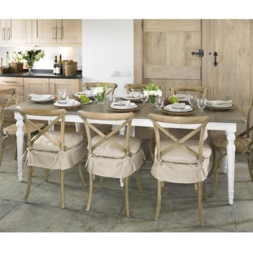 Rustic Isabella Dining Table Large Dining Tables And Rustic Oka Regarding Fashionable Isabella Dining Tables (View 15 of 20)