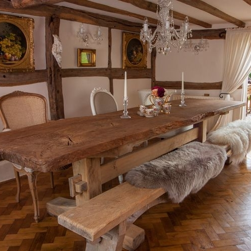 Rustic Oak Dining Tables Pertaining To Widely Used Portwoodstuio's Rustic Oak Dining Table, The Good Girls Oak (View 15 of 20)