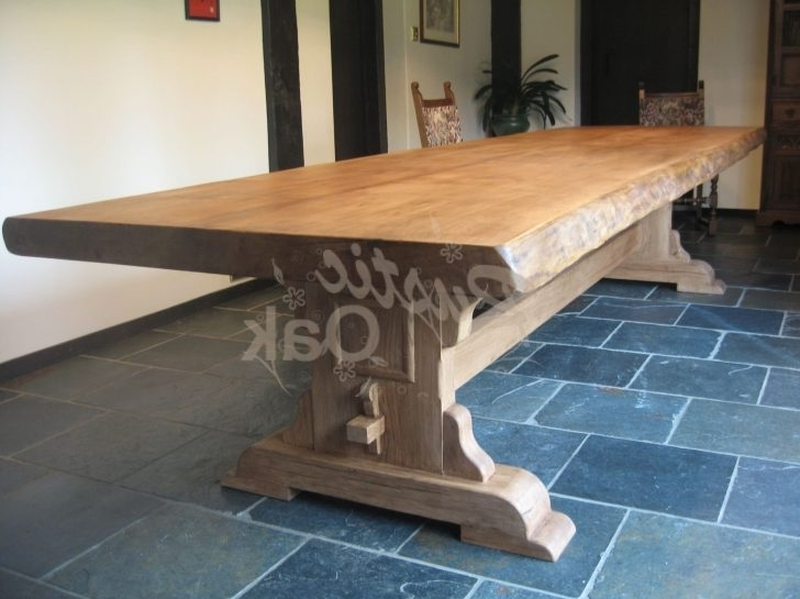 Rustic Wooden Dining Table (View 18 of 20)