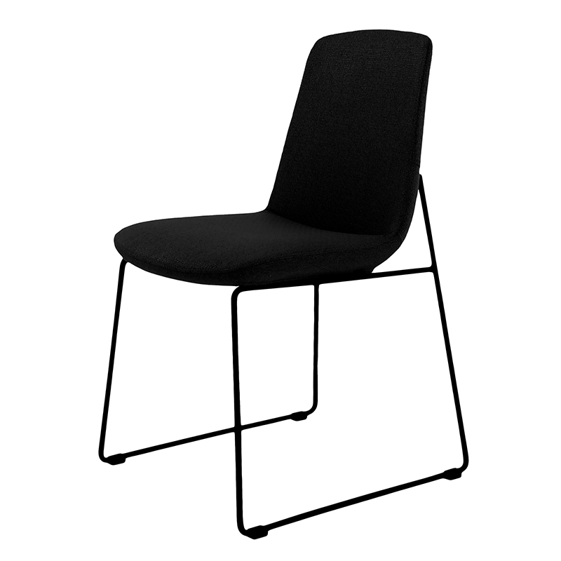 Ruth Modern Dining Chair Black – (set Of 2) With Regard To Most Current Black Dining Chairs (View 12 of 20)