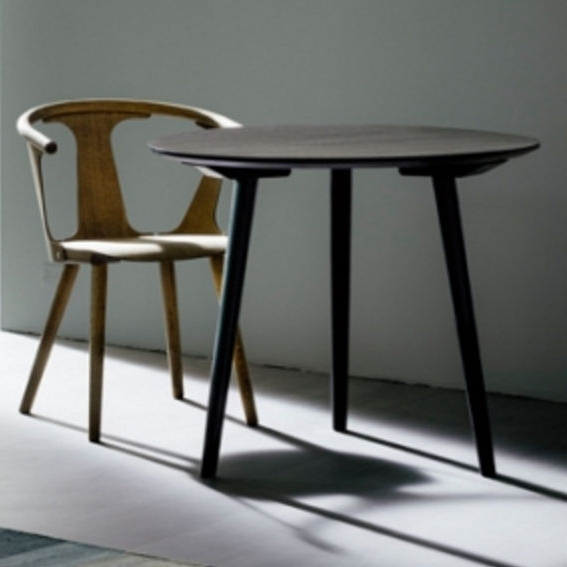 Scandinavian Design Dining Table / Wooden / Round – In Between Sk3 Throughout Most Popular Lassen Round Dining Tables (View 13 of 20)