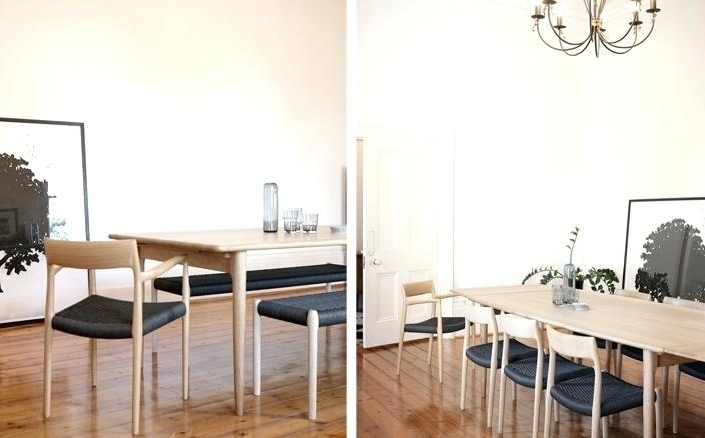 Scandinavian Dining Tables And Chairs Pertaining To Popular Scandinavian Dining Room Chairs Magnificent Ideas Dining Table (View 14 of 20)