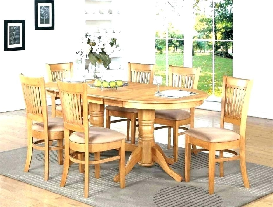 Second Hand Oak Dining Chairs For Best And Newest Oak Dining Table And 6 Chairs Ebay Royal Solid For Sale Furniture (Gallery 18 of 20)